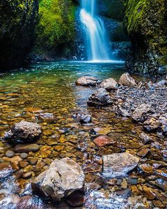 Oneonta Gorge - Lower Oneonta Falls