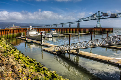 Astoria–Megler Bridge, Astoria, Oregon, USA