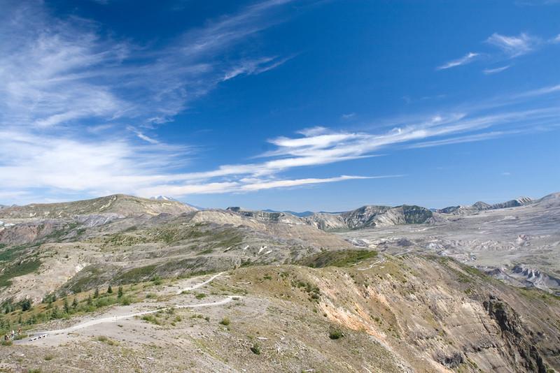 Around Mt. Saint Helens
