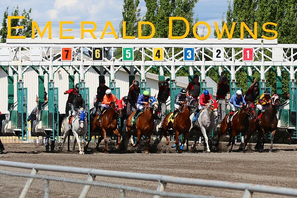 Emerald Downs - August 17, 2013