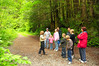 Then we began our officially guided tour of the watershed.  They offered short tours during Greenway Days.  We'll go on a longer (9:45 am to 12:30 pm) scheduled tour later in the season.