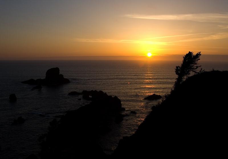 Ecola State Park Sunset