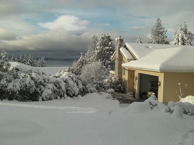 Day 4. More snow fell overnight.    December 22, 2008