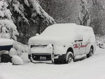 Fire & Rescue. Neighborhood - Day 4. More snow fell overnight.    December 22, 2008