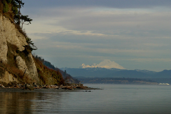 Mt.Baker from Possession Point