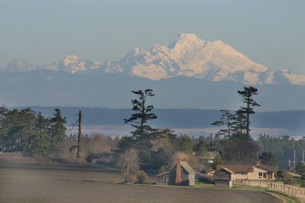 Mount Baker from Ebey Landing