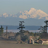 Mount Baker from Ebey Landing