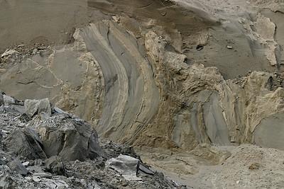 Double Bluff beach patterns.   February 12, 2009