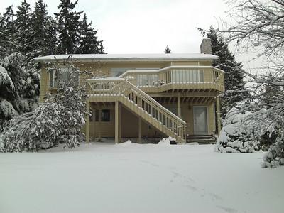 Our neighborhood on December 21, 2008