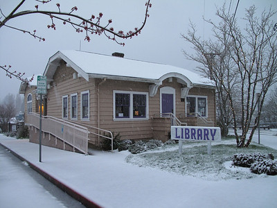 Langley library, Whidbey Island. March 22, 2013