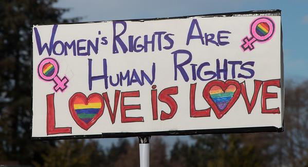 Women's March - Langley, WA 01/21/2017