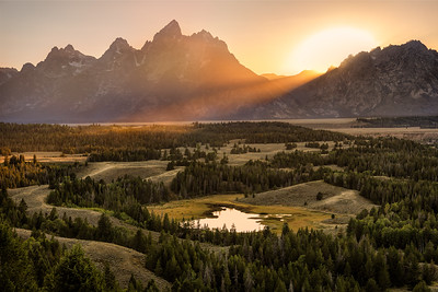 Hedricks Pond Overlook, Grand Teton NP