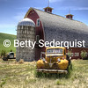 Old Truck and Barn, Palouse