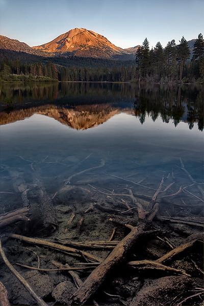 Manzanita Lake, Lassen Volcanic National Park, California