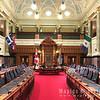 Legislative chamber inside Parliament Building