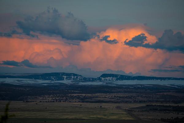 Sunset, Steen Mountains, Eastern Oregon
