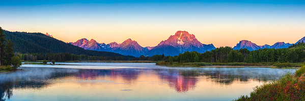 Oxbow Bend First Light, Grand Tetons