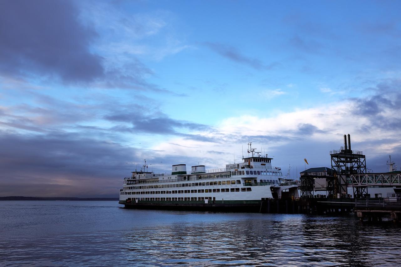 Ferry Dock | Seattle, WA | January 2017