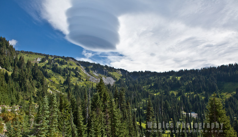 Cloud Formed by Mt. Rainier