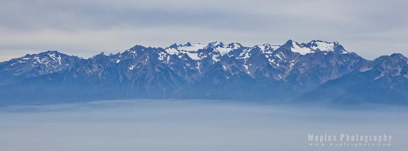 Three Peaks of Mount Olympus