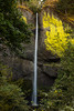 Latourell Falls, Oregon. The fall is 250 feet high.
