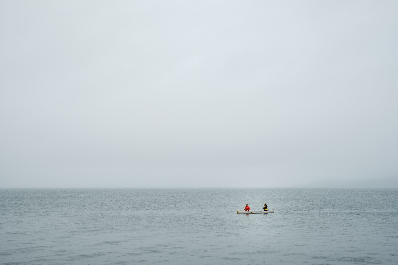 Canoers at Alki | Seattle, WA | February 2018