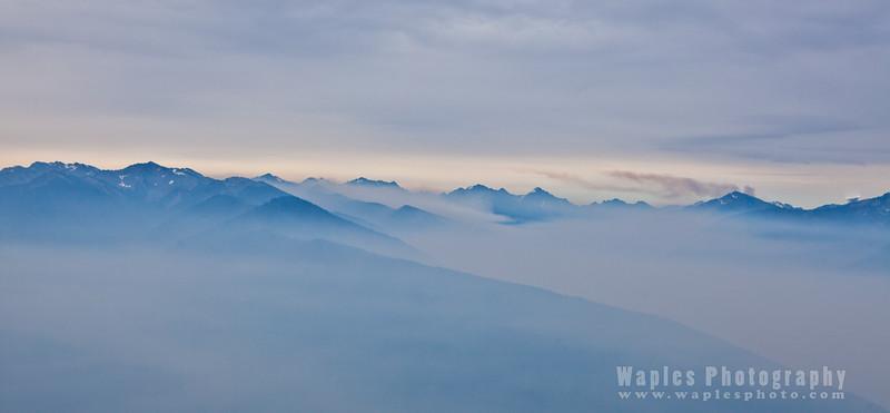 Smoke and Mountain