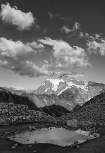 Mt Shuksan and Tarn