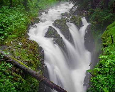Raging Sol Duc Falls