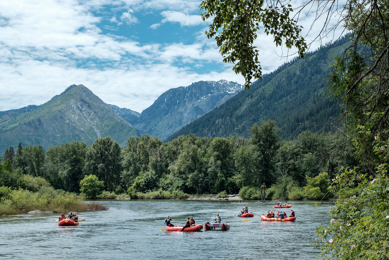 Floating the Wenatchee River | Leavenworth, WA | June 2018