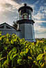Cape Meares Lighthouse, Oregon. Built in 1889, the tower stands 38 feet high and is the shortest lighthouse in Oregon.