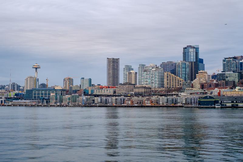 Afternoon departure   Seattle, WA   January 2018