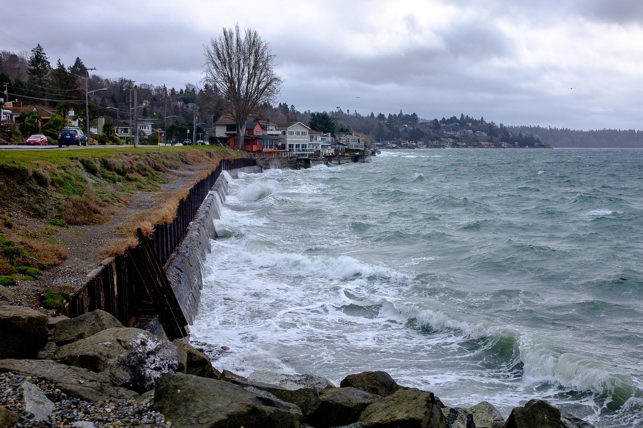 Rough water | Seattle, WA | February 2017