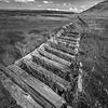 Broken Wooden Fence, Sagebrush Country, Southeastern Oregon