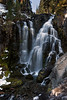Kings Creek Falls, 50 feet tall, Lassen Volcanic National Park.