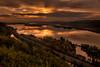 Sunset, Columbia River Gorge, Oregon.