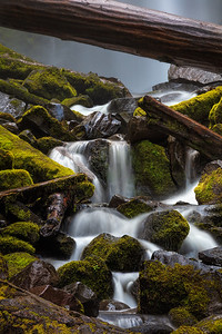 Proxy Falls Detail, Oregon