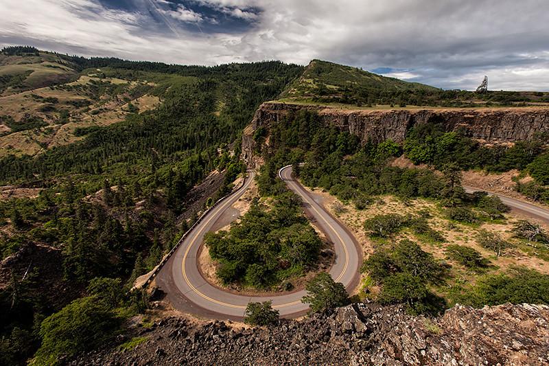 Rowena Loop, Columbia River Gorge, Oregon