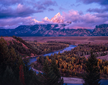 Snake River Overlook, Wyoming