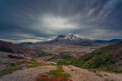 Erupting Sky, Mount St. Helens