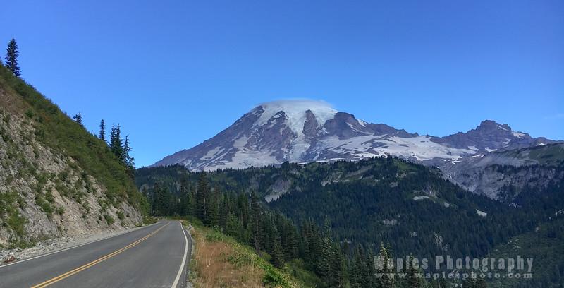 Mt. Rainier and Little Tahoma Peak