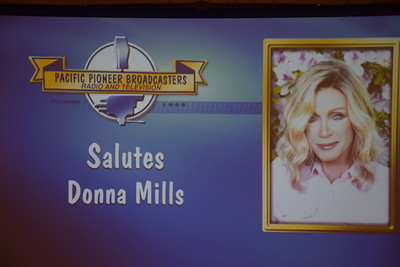 Pacific Pioneer Broadcasters honors Donna Mills