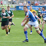 Glendale Raptors vs the San Francisco Golden Gate in a Pacific Rugby Premiership Championship game at Infinity Park in Glendale, Colorado. May 3, 2014