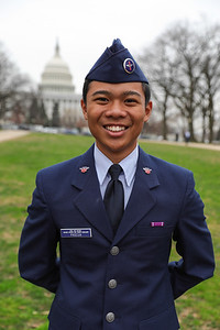 Civil Air Patrol Cadets from Hawaii Wing tour Washington D.C. while in town for the 2018 CAPLegislative Day.  Photo by Sara Tellio, Hawaii Wing PAO