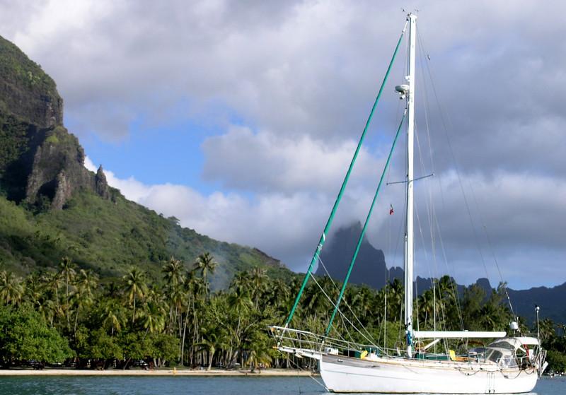 The Boat at Opunohu Bay, Moorea
