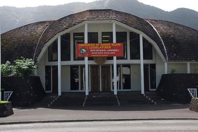 American Samoa Government Building in American Samoa