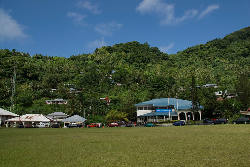 Pago Pago in American Samoa
