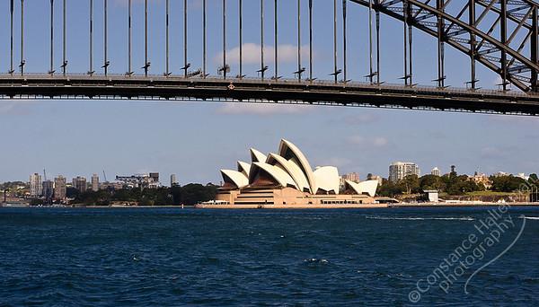 Sydney - Opera House and Harbor Bridge
