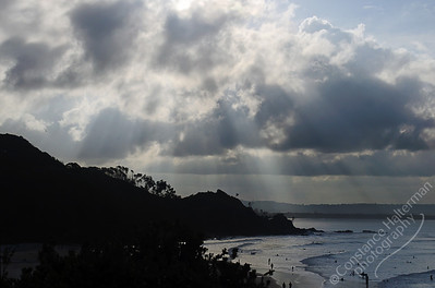 Byron Bay - sunbeams