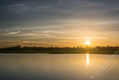 Kakadu National Park, Yellow Water BIllabong -  sunrise